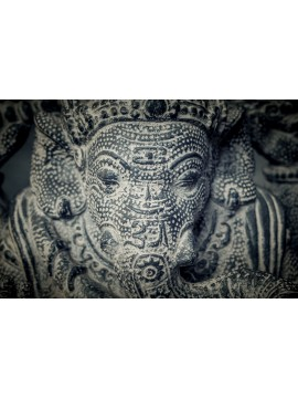 Ricamente decorado Ganesha