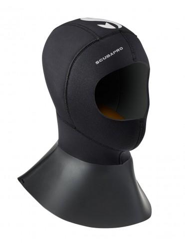 Capucha Everflex 6/5mm con Cuello Largo