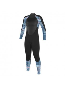 TRAJE MUJER O'NEILL SUPERFREAK 4/3 MM BACK ZIP FULL