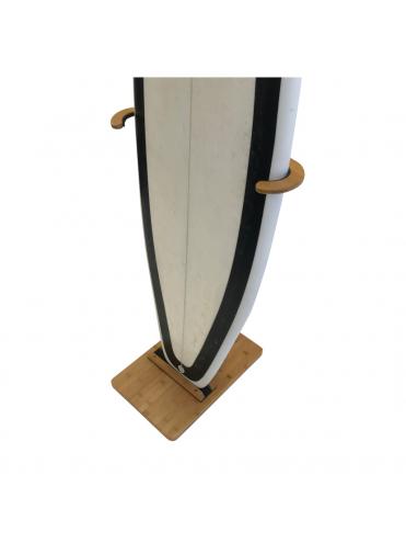 Soporte de surf de madera de bambú
