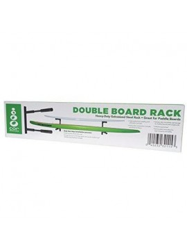 Rack de almacenamiento de pared doble SUP y longboard