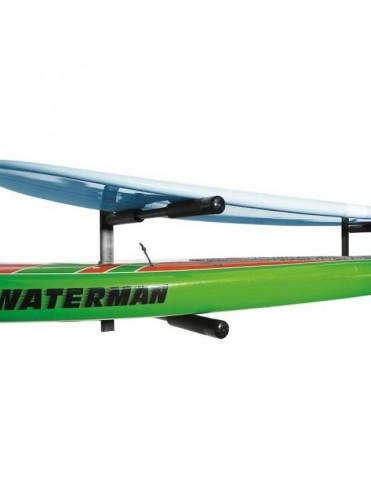 Rack de almacenamiento de pared doble SUP y longboard