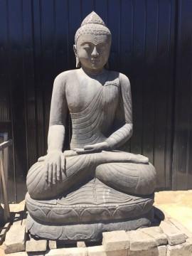 Buda Thai de Piedra, Black Stone 2.30 Mts Alto